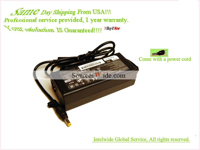 18.5V AC Adapter For Compaq HP ST-C-075-18500350CT Charger Power