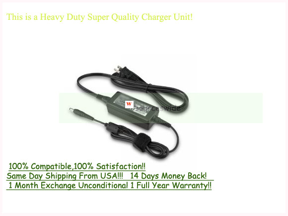 AC Adapter For SONY VAIO VPC-YB15AG/P VPC-YB13KX/P Netbook Charg