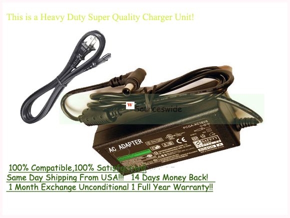 AC Adapter Power Supply For SONY VAIO PCG-5L3L PCG-F560