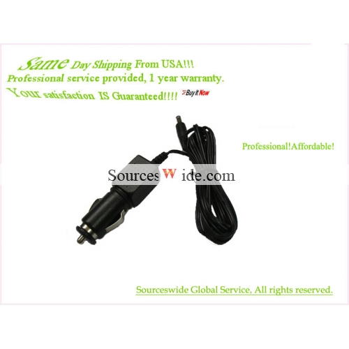 Car Adapter Charger For KD-627 Fit RCA DVD Player Auto Power Sup