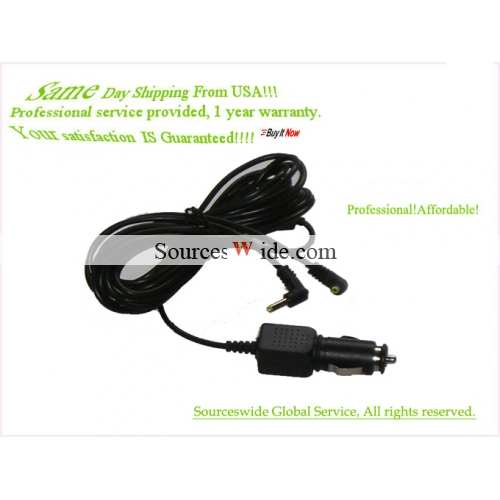 "Car Charger 4 Ventuer PVS7287 - Twin 8"" Dual DVD Player"