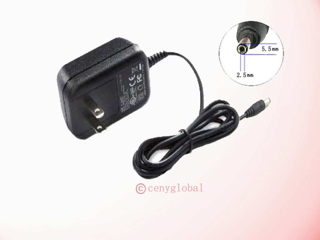 7V-7.5V 1A / 1000mA AC 100V-240V Converter Adapter Power Supply